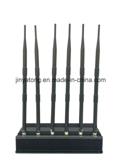 High Power 6 Antenna Wi-Fi VHF/UHF and Cellphone Jammer pictures & photos
