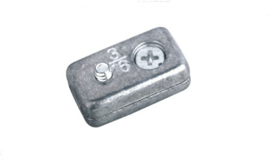 Zinc Alloy Nickel or Chrome Plated Square Shaped Wire Rope Clips Model Dr-7316z pictures & photos