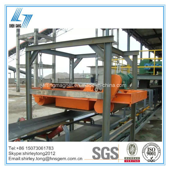 Industrial Electric Magnetic Separator for Belt Conveyor pictures & photos