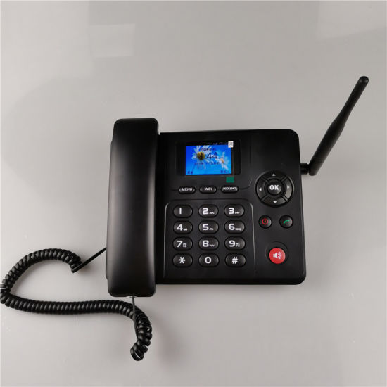 GSM WCDMA Volte 4G Fixed Wireless Desktop Phone with Android System
