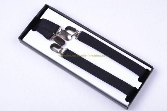 Unisex Men Lady Fashion Skinny Elastic Suspender 2.0*100cm