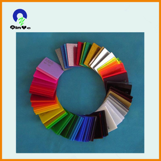 China 2mm to 5mm Glitter Acrylic Sheet with Different Colors - China ...