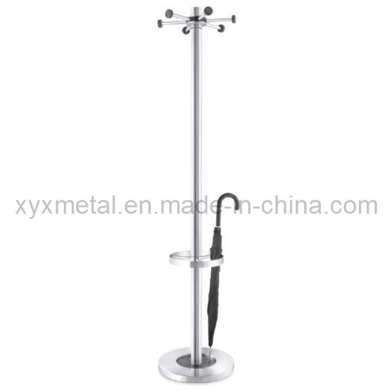 china floor stand with umbrella holder stainless steel coat rack Umbrella Coat Rack