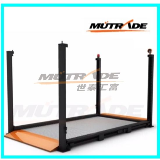 Four Post Outdoor Parking Lift China Auto Hoist pictures & photos