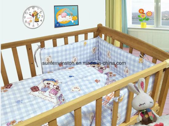 100% Cotton Baby Bedding Sets 3PCS Crib Set