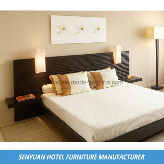 [Hot Item] Dark Brown Modern Hotel Villa Bedroom Furniture (SY-BS10)