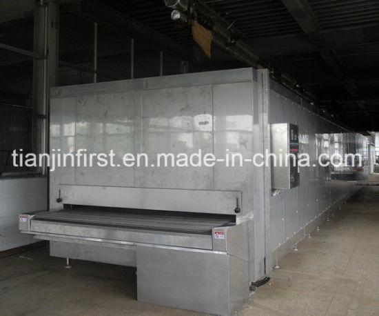 Factory Directly Supply Tunnel Quick Freezer for Food Industry pictures & photos