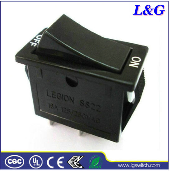 Power 16A 2 Position Electrical Micro Rocker Switch (SS31)