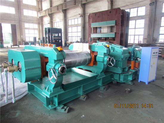 Unite Drive Rubber Mixing Mill with Bush Bearings pictures & photos