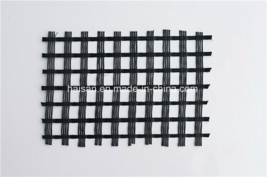 Hot Selling Biaxial Thermostable Fiberglass Geogrid 100kn/M2 pictures & photos