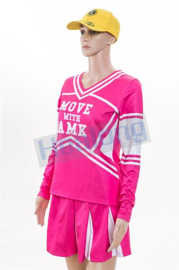 Healong Sublimation Girl Sexy Cheerleader Dress pictures & photos