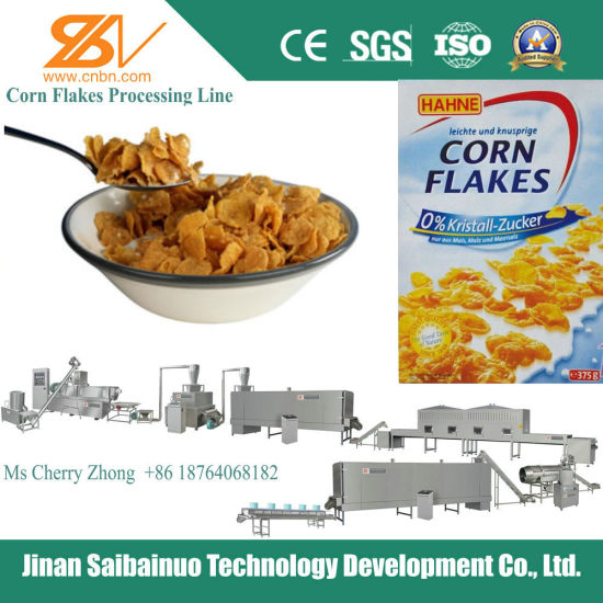 Corn Flakes Extrusion Machine pictures & photos