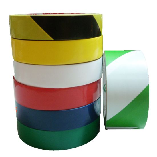PVC Floor Marking Tapes (PVC warning tape) pictures & photos
