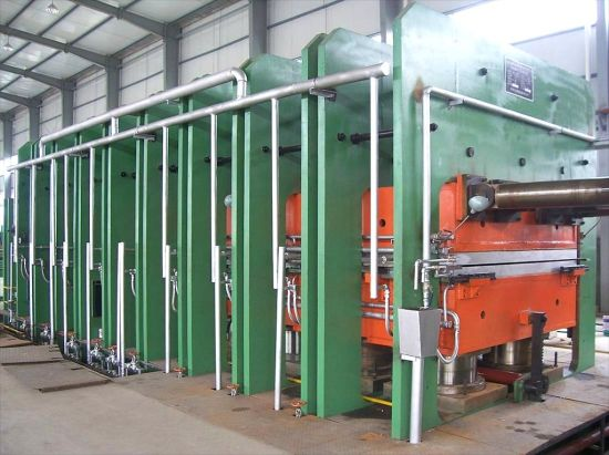 Rubber Transport Belt Vulcanizing Press, Hot Hydraulic Press pictures & photos