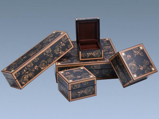 China Strong Pine Wood Porcelain Packaging Gift Boxes