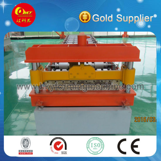 Botou Hky High Quality Aluminium Roofing Sheet Machine Made in China