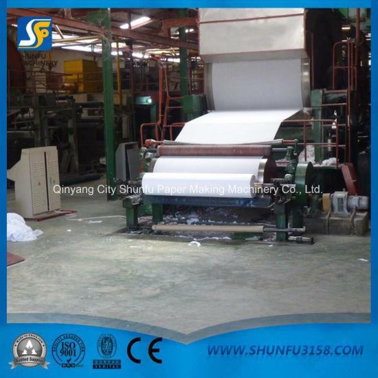 Bathroom Tissue Roll Rewinding Machine Best Factory Price
