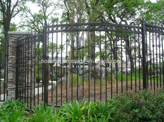 Hot Sale Home and Garden Security Iron Fence pictures & photos