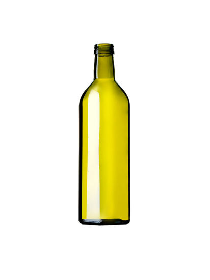 500ml Green Olive Oil Glass Bottle pictures & photos