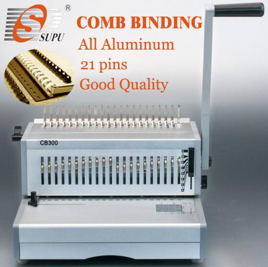 China Manual Comb Binding Machine Metal A4 (CB300) - China Comb