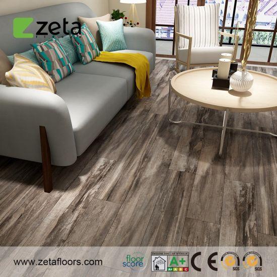 Wood Design Rigid Core Flooring Spc Click Vinyl Flooring PVC Floor Tile
