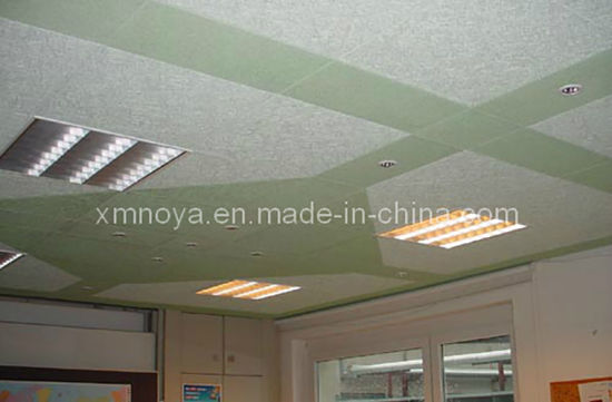 Acoustic Sound Insulation Wood Wool Cement Board for Ceiling Decorative