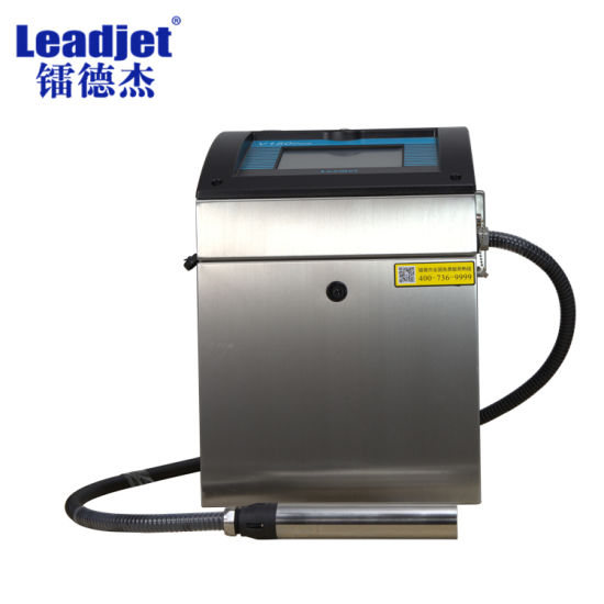 Leadjet 150plus Fast Printing Inkjet Printer on Plastic Bag and Cans pictures & photos