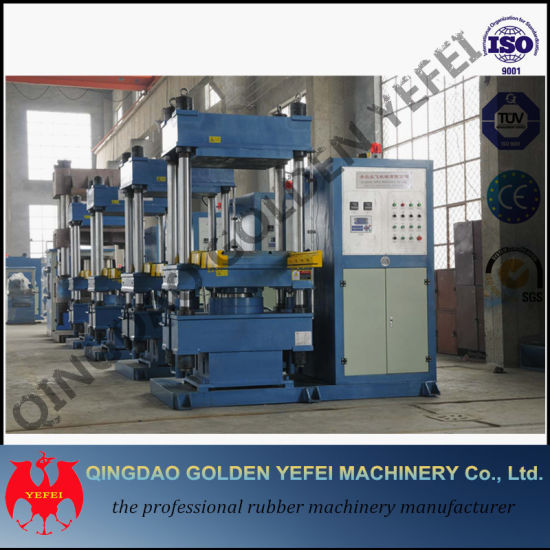 Rubber Vulcanizing Press Machine for Solid Tyre pictures & photos