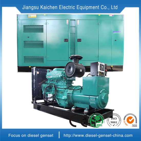 250kVA Electric Cummins Engine Power Silent Diesel Power & Generating Sets