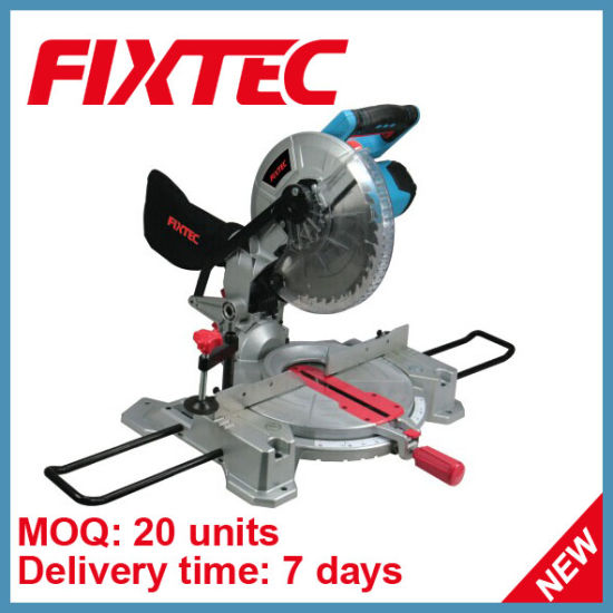 Fixtec Power Tools 1600W 255mm Miter Saw Hand Tool pictures & photos