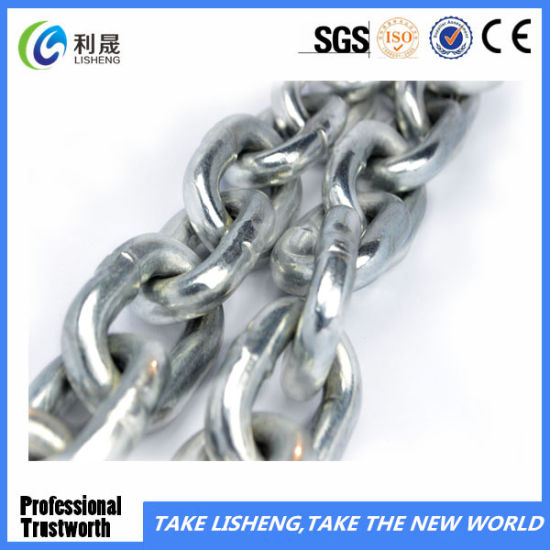 Galivanized Iron Short Link Chain for Lifting pictures & photos