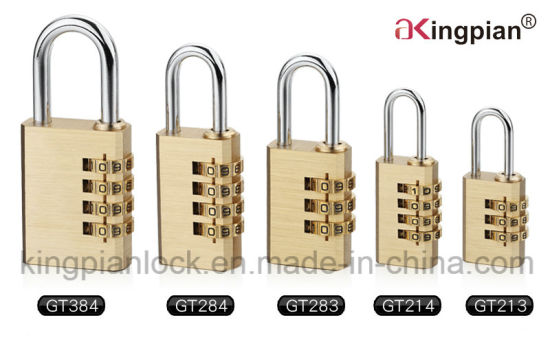 4 Digit Brass Combination Padlock and Code Padlock pictures & photos