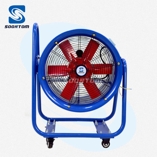 Made in China 24inch Warehouse Industrial Portable Propeller Blower