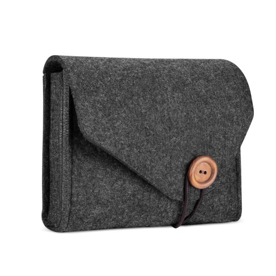 Power Adapter Case Storage Bag, Felt Portable Electronics Accessories Organizer Pouch for MacBook PRO Air