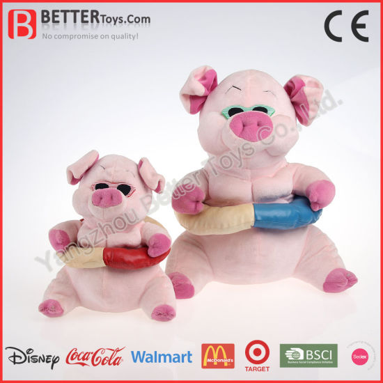 2019 New Design Christmas Gift Soft Pig Doll Wholesale Plush Children Toy