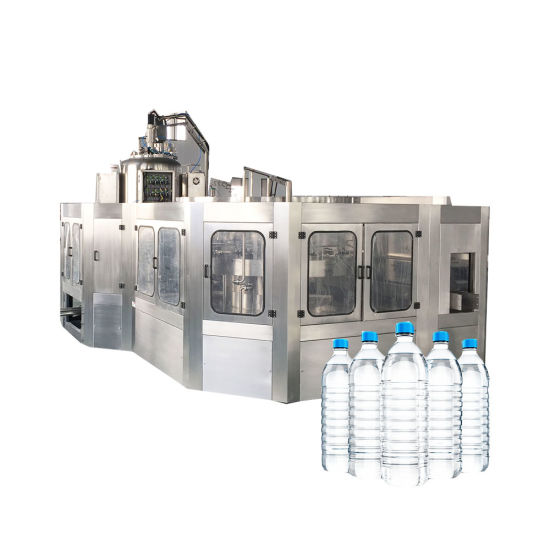 Drinking Water Mineral Water Bottle Rinsing Filling Capping