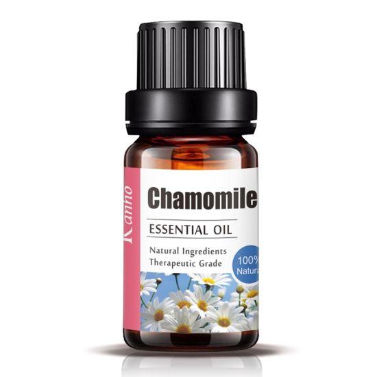 Wholesale 100% Natural 10ml Chamomile Essential Oil Moisturizing Improve Dry Skin Massage Lin Single Essential Oil