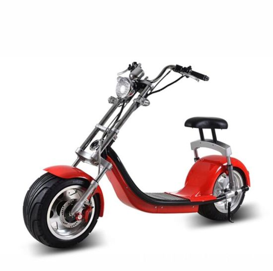 Europe Market EEC Scooters China Cheap Price 1500W 2000W Lithium Removable Double Battery Citycoco Harley Electric Scooter