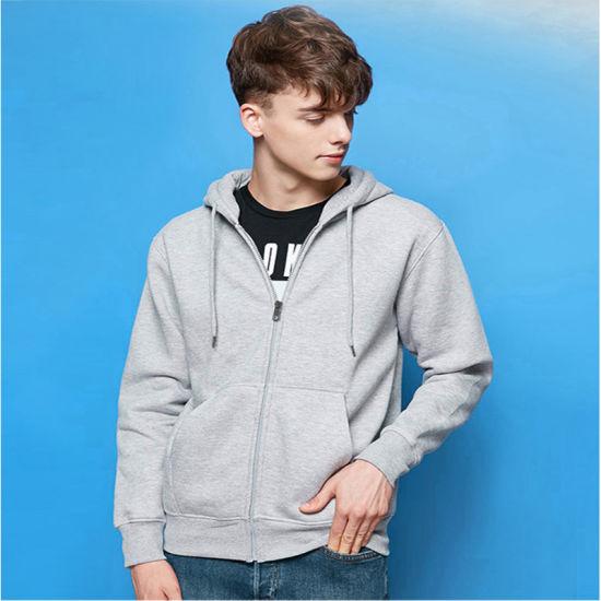 Men's Zip up Casual Jacket Winter Warm Thick Sport Hoodies