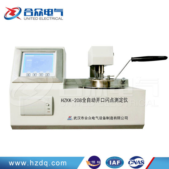 Automatic Opening Flash Point and Fire Point Tester