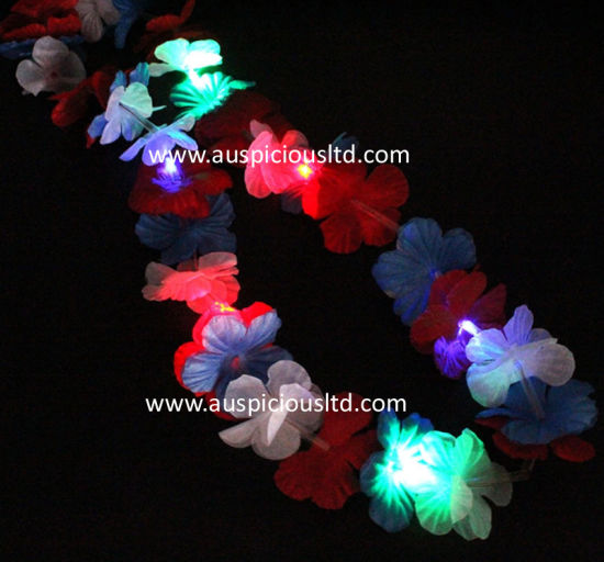 Factory Price Flash Flower Necklace
