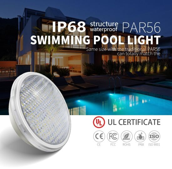 Hot Sale 12V 15W IP68 Waterproof ABS Anti-UV Material RGB Remote Control Multi Color LED Swimming Pool Light