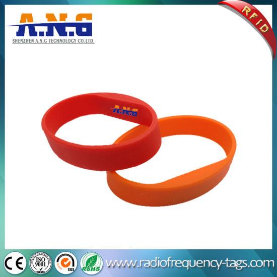 Wholesale Eco-Friendly Lf Uh UHF Chip 125kHz Silicone RFID Wristband
