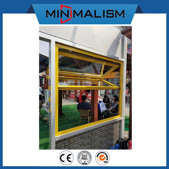 Waterproof Aluminum Folding Window Factory Direct Sale