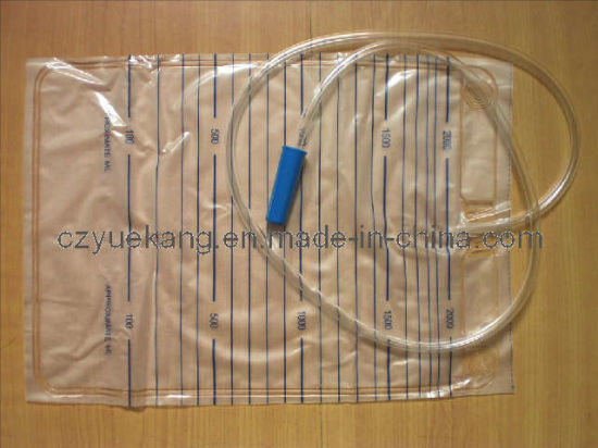 Sterile Urine Drainage Bag for Single Use pictures & photos