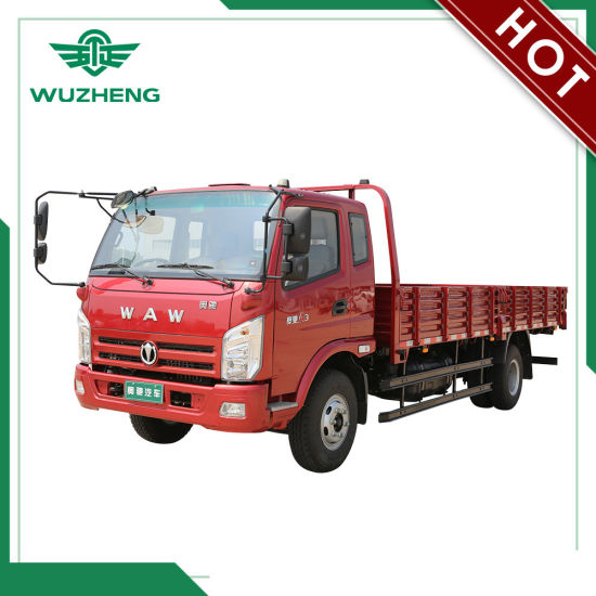 WAW Manual Medium Truck with Good Performance pictures & photos