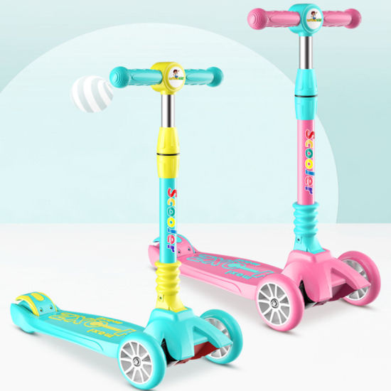 New Model Baby Toys Kid Scooter / 3 Wheel 4 Wheel Scooters for Children / Mini Baby Kickscooter for Sale