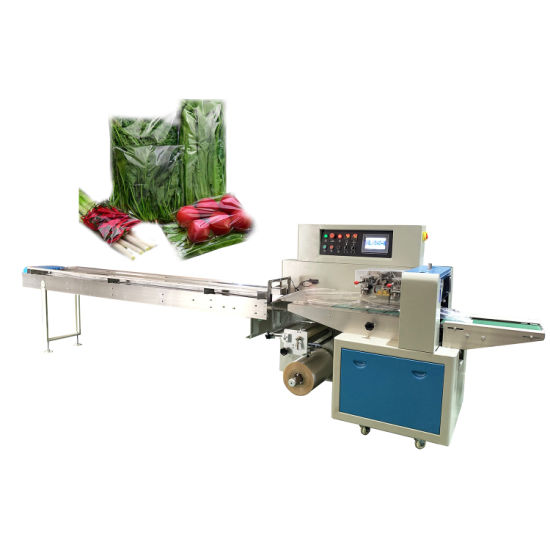 Pillow Automatic Chocolate / Bread / Biscuit / Ice / Horizontal Wrapping Food Packaging Machine