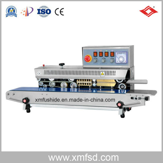 Frm-980 I Ink Wheel Color Printing Continuous Sealing Machine