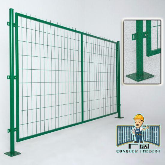 Wholesale Galvanized Iron Mesh Fence with PVC Coated